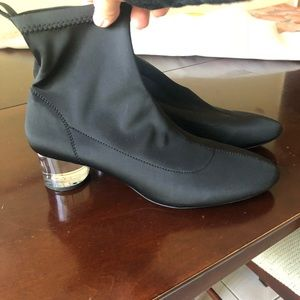Worn twice Zara slip on ankle booties.